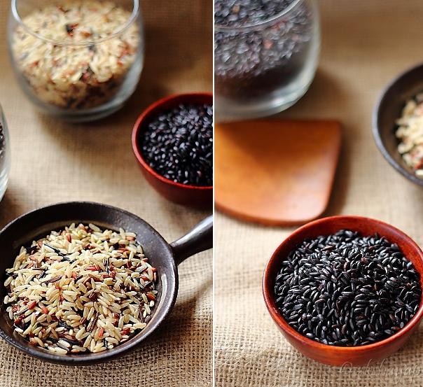 Черный и дикий рис для похудения