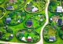 Удивительные круглые сады в Датском городе Найем