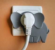 Слон в комнате: забавный аксессуар, помогающий по-новому взглянуть на электрическую розетку