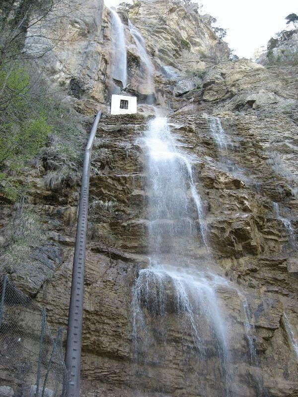 Самый высокий водопад украины