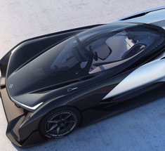 Серийный электромобиль Faraday Future покажет на CES 2017