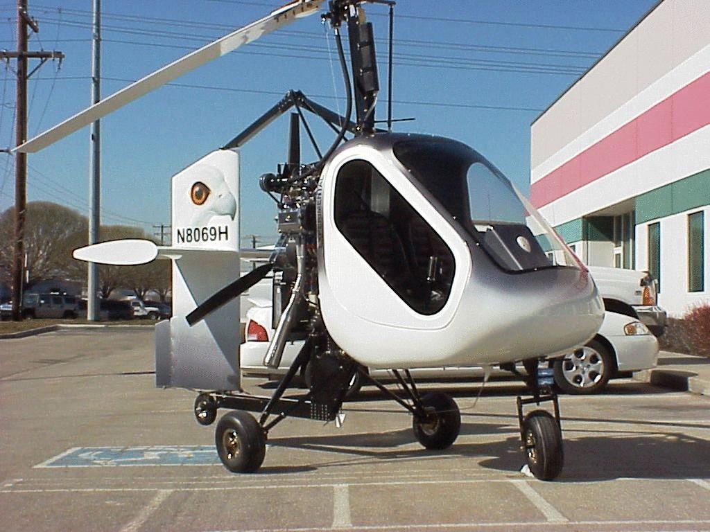 Вертолет с двигателем от бензопилы 118