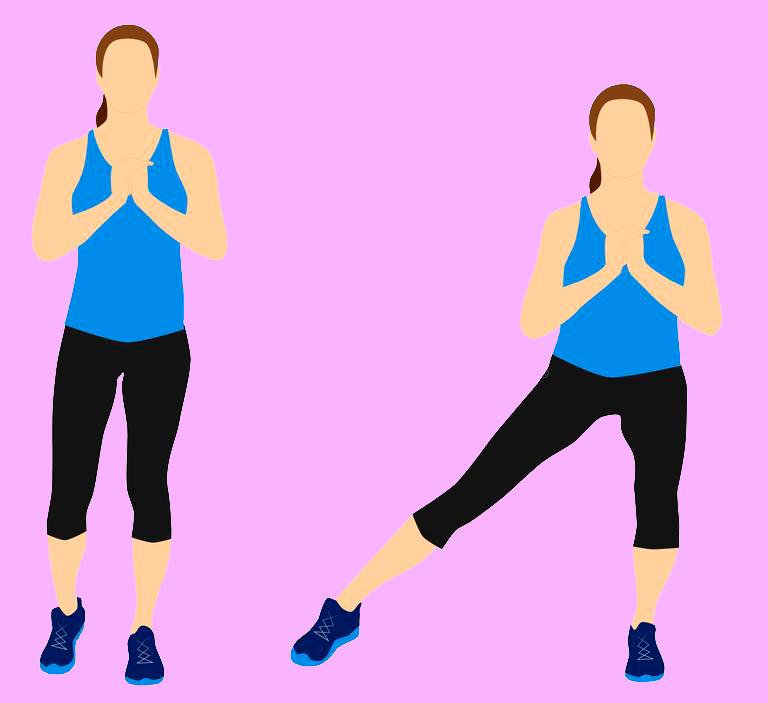 Упражнения Для Похудения Начальная Стадия. Тренировки для похудения дома без прыжков и без инвентаря (для девушек): план на 3 дня