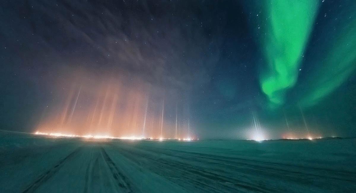 фото природных световых эффектов который