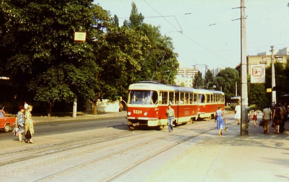 Киев 30 лет назад