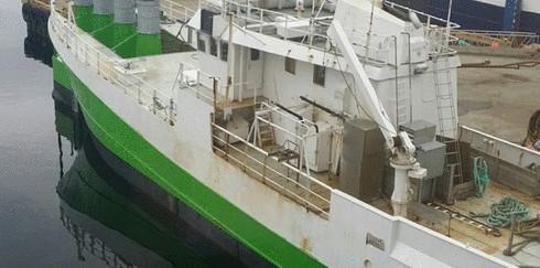 Как из старого рыбацкого судна сделали волновую электростанцию