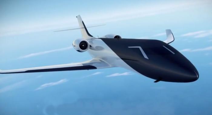 Концепт «прозрачного» самолёта, в котором нет ни одного иллюминатора (ВИДЕО)