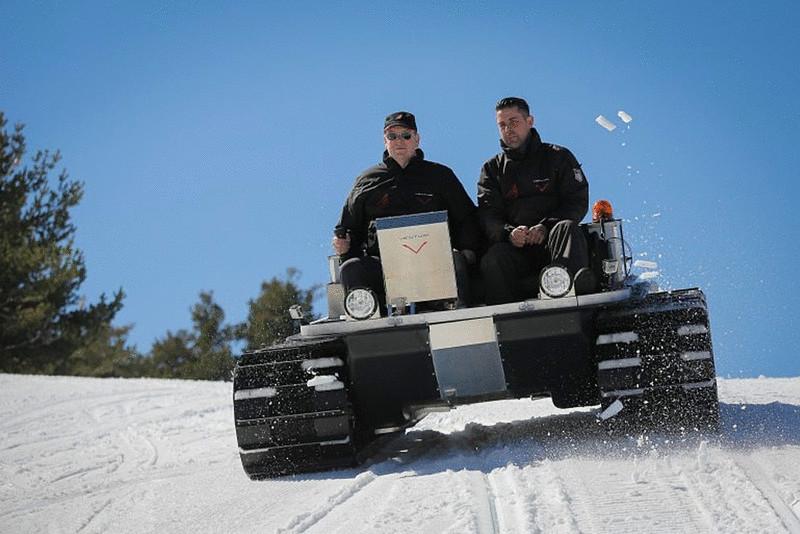 Электромобиль для Антарктиды