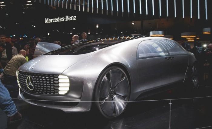 Водородный суперконцепт от Mercedes: новый уровень комфорта, безопасности, экологичности