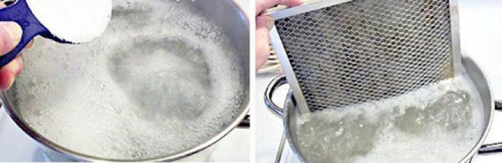 Как отмыть вытяжку подручными средствами