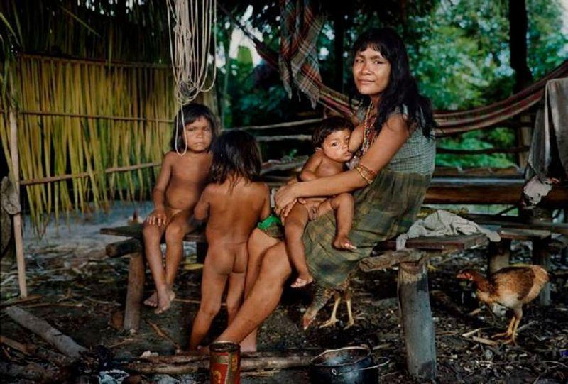 Смотреть половой акт в племенах южной америки, фото в нижнем белье крупным планом
