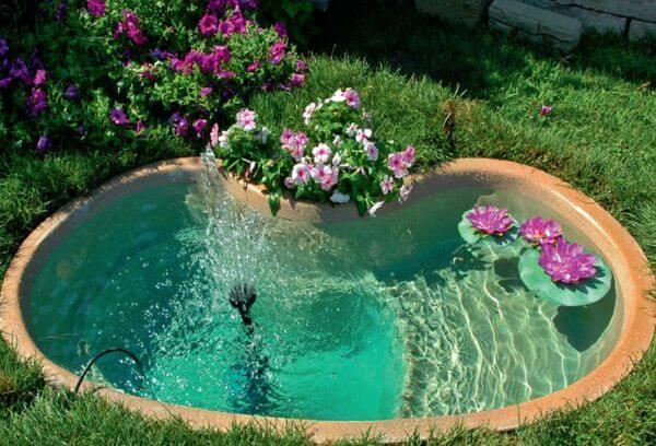 Как сделать фонтан для пруда на даче