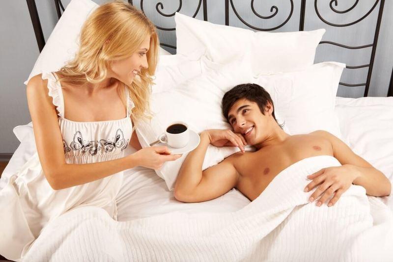 Как сделать жене в постели