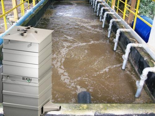 Американская компания разработала установку для удаления запаха сточных вод
