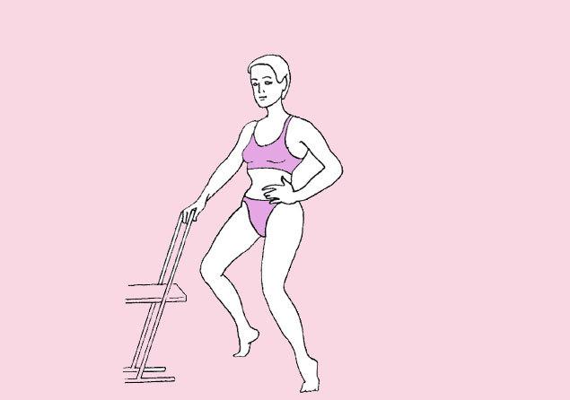 7 упражнений для совершенной формы ног