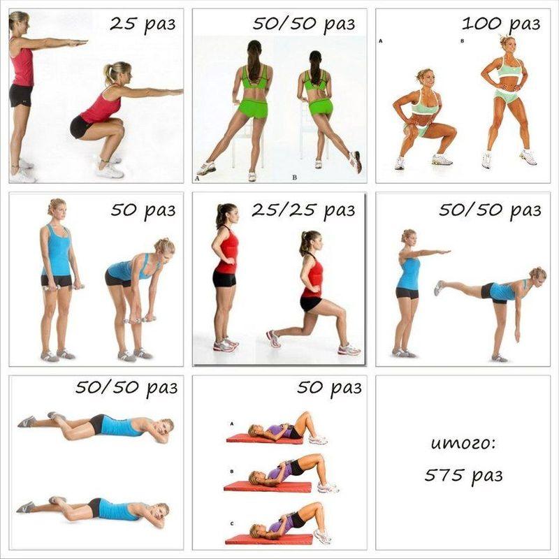 Похудеть к 8 Марта: пошаговый план питания и тренировок