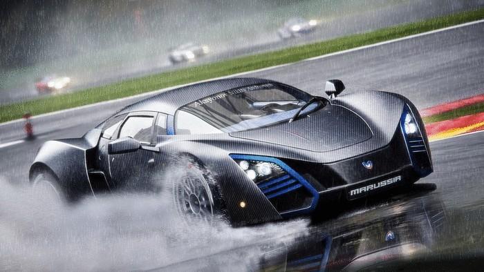 Российский спортивный автомобиль Marussia B2