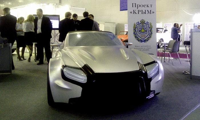 Российский спортивный автомобиль Крым