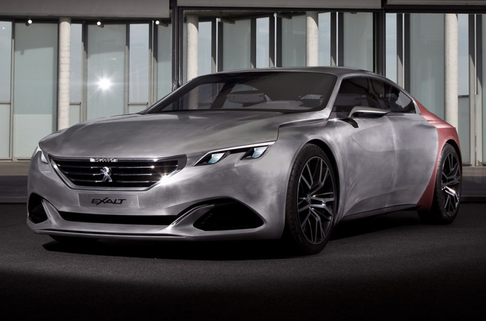 Концепт Peugeot Exalt.