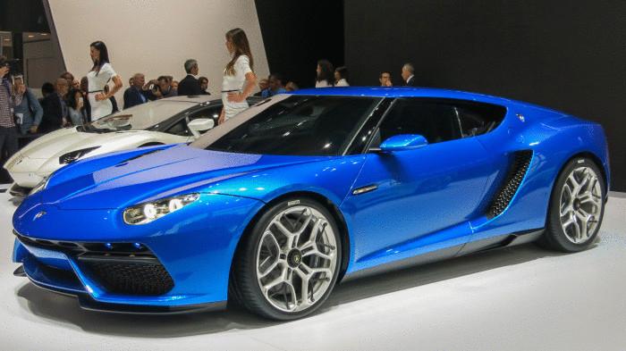 Гибридный Lamborghini Asterion.