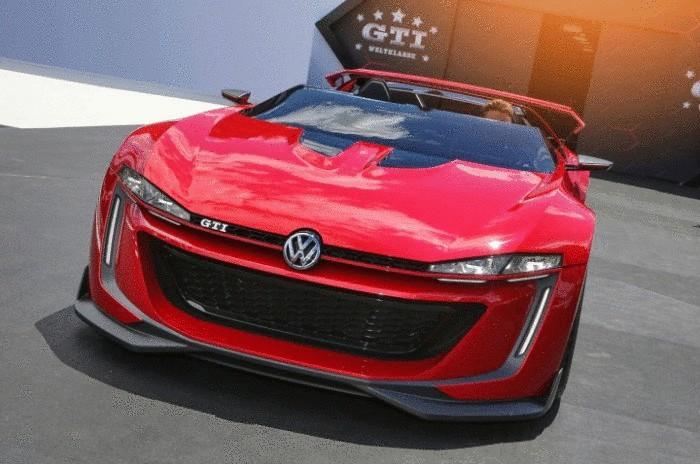 Концепт VW Vision GT.