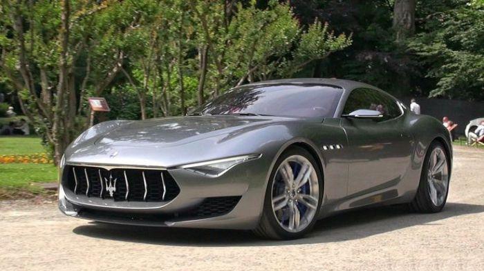 Концепт Maserati Alfieri.