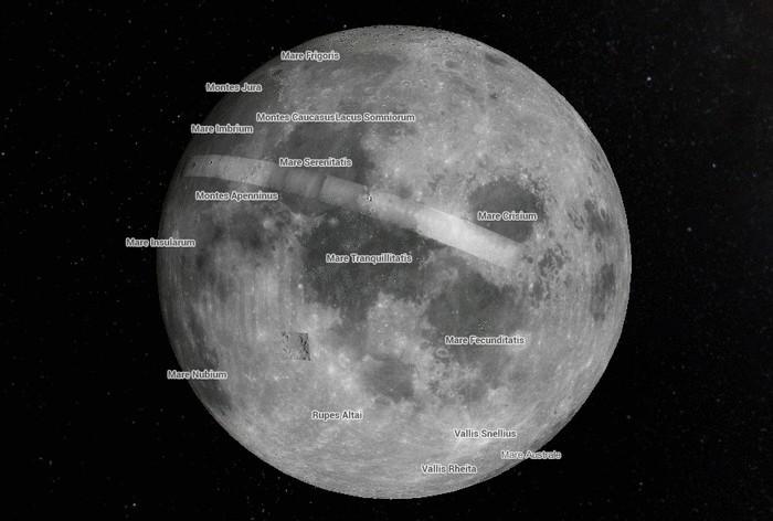 Клуб домашних астрономов от Google Maps