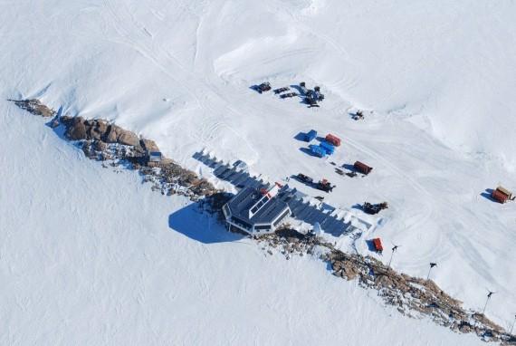 полярная станция на возобновляемых источниках энергии