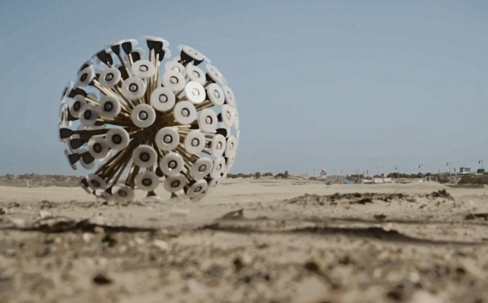 Шарообразный детонатор Mine Kafon