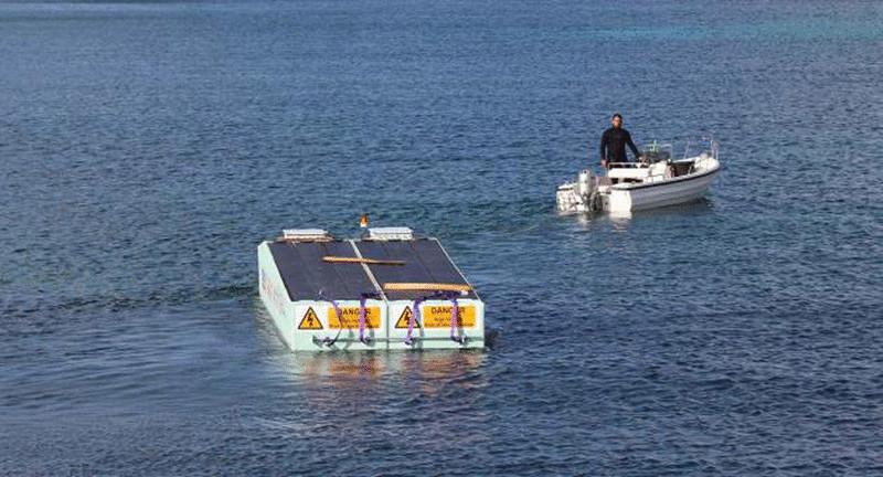 Плавающие солнечные батареи на Мальте