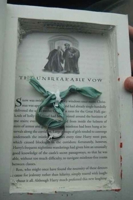 Книга - лучший подарок. С кольцо внутри она становится еще лучше.